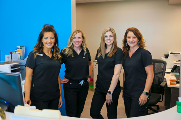 Our dental team at Singing River Dentistry in Muscle Shoals, AL