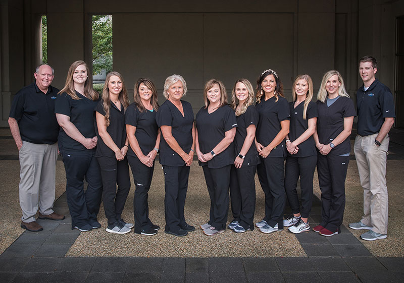 The team of Singing River Dentistry in Muscle Shoals, AL